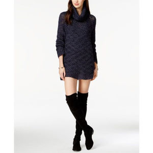 Sanctuary Connie Turtle Neck Sweater Dress/Tunic